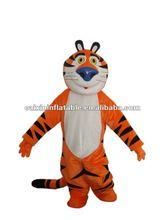 blue nose tiger mascot costume