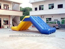customized commercial backyard inflatable water slip slide