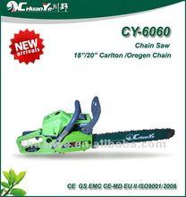 51.0cc de la cadena de la sierra con la cadena de oregon cy-6060