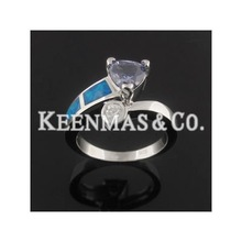 super hot selling 925 sterling silver opal jewelry,mens opal ring,womens opal&diamond ring
