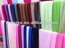super soft short plush fabric short pile plush fabric for shoes