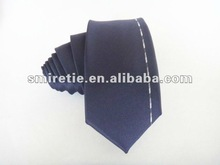 2012 New pleated 100% Silk Woven Necktie