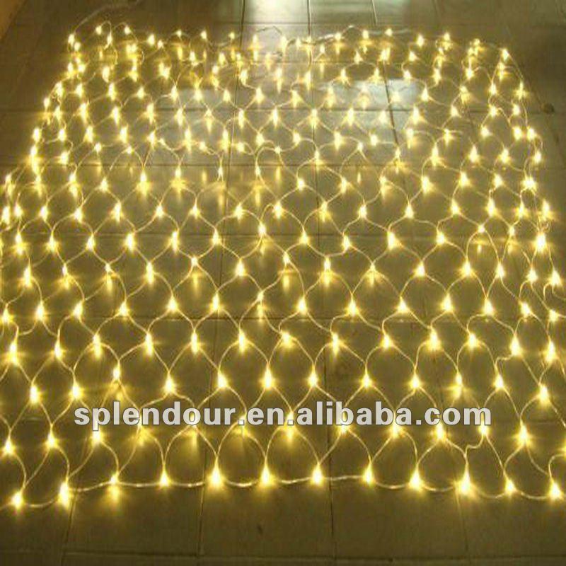 2X3M warm white 24V LED Christmas net light