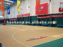 Gym/school/match use PVC basketball Sports floor