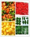 الخضراوات المجمدة العميقة المحصول الجديد مع ادارة الاغذية والعقاقير brc haccp iso9000 iso22000 موافق للشريعة اليهودية الحلال