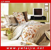 brown printed cotton comfort set