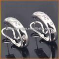 2012 neuer Sterlingsilber-Ohrring, Band Earring-JE1549