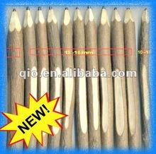 new natural wood pen and pencil