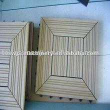 PVC/PE/PP wood plastic outdoor flooring profile production line