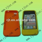 different colors full cover silicone case for apple iphone 4 /4s-(free sample)