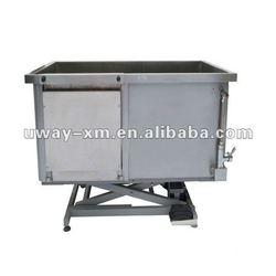 UW-FB-005 Electric Lifting Bathtub for pets/pet bath tub/dog bathtub (one door)