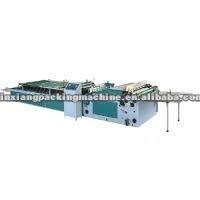 2012 High quality Semi -Automatic Dual Laminating Machine(Veneer Machine)