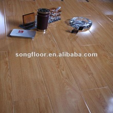 12mm AC4 igh glossy wooden flooring