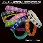 Custom cheap silicone bracelet/silicone band bracelet