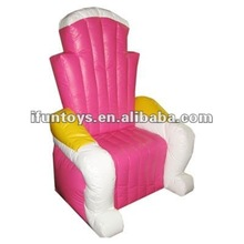 2012 Red inflatable throne