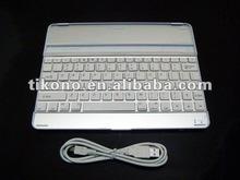 Ultrathin Mobile Bluetooth Wireless Keyboard Dock Front Case for Apple iPad 2