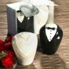 Bride & Groom Salt & Pepper Shaker Favors