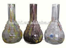 Blown large glass bottle for hookah shisha