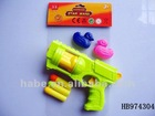 EVA soft gun with 2 duck+3 EVA bullets, children soft gun toys