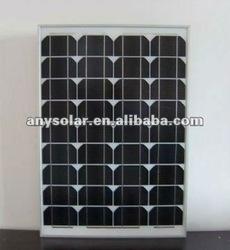 high efficiency 130w solar panel, best price pv solar panel