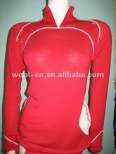 merino wool underwear sports top for women