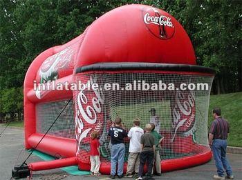 Kids Inflatable baseball cage