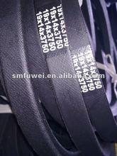 Wrapped v belt HM 19*14 of Rubber