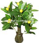 fake lemon fruits bonsai tree