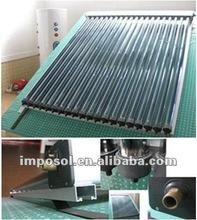 High efficiency heat pipe solar collector