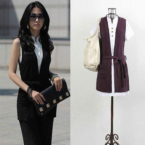 2012 nuevo de moda blusa sin mangas