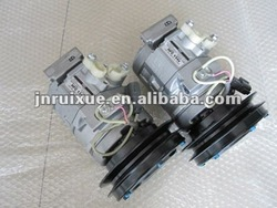 Komatsu PC200-7 excavator air conditioning compressor (20Y-979-6121)