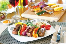 DOUBLE PRONG ENTREE SKEWER