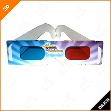 2012 New Printed Paper 3d Glasses