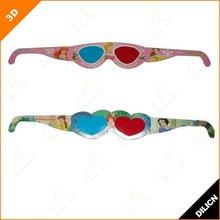 2012 New Cheap Paper 3d Glasses