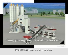 FangYuanGroup ready-mixed HZS120D concrete mixing plant