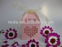 2012 Mother's Day laser cut favour gift box,free logo