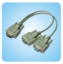 2 MONITORS VGA/SVGA/HD15 SPLIT TO 1 PC CABLE ADAPTER 99