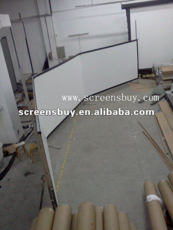 Extra Large Fast Fold Screen (rear / front fabric with flight case)