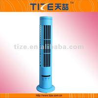 USB oscillating tower fan TZ-USB380CR Rechargeable battery fan