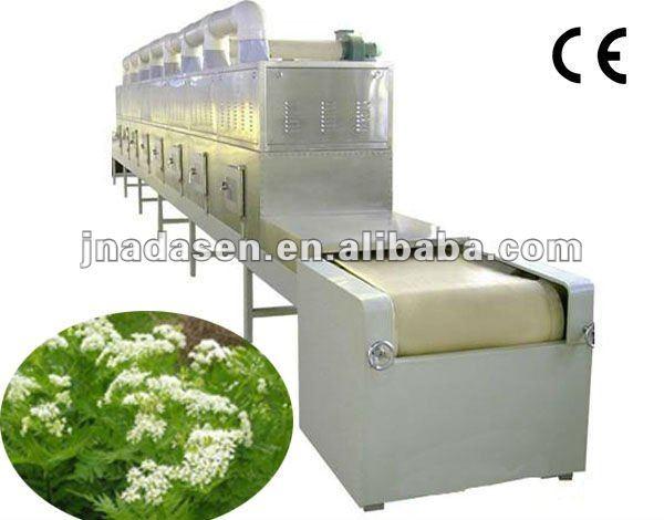 chinese medicine herb microwave drying&sterilizing machine
