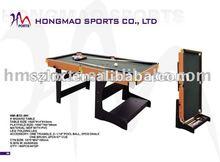 modern folding biliard table with billiard ball box