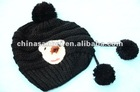 knitted beret hat cap