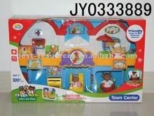 2012 Lastest / Newest Design Cartoon Supermarket Play Set / Happy World / Pretend Play