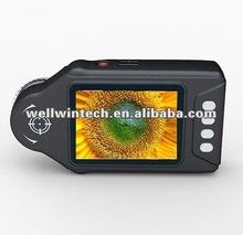 10x-600x 2.7' wellwin lcd digital microscopio/lupa de la cámara