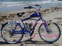 "26""GAS MOTOR ENGINE BIKE,gas beach cruiser bike,BICYCLE MOTOR ENGINE"