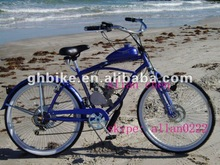 "26""GAS MOTOR ENGINE BIKE,gas beach cruiser bike,BICYCLE MOTOR ENGINE"