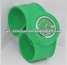Colorido relógio de silicone 2012