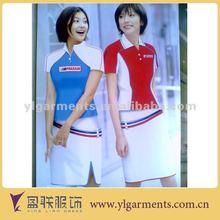 promotor de diseño de los uniformes