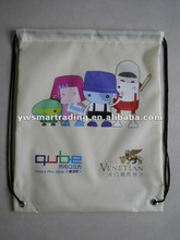 Drawstring bag Fabric shoulder polyester Bag Promotional use shoe bag