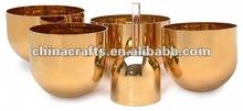 Golden singing bowle CGB-006